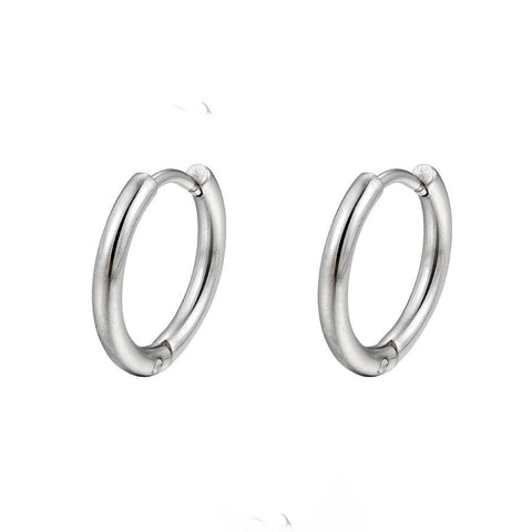 Dainty Endeless Hoop 18Kts of goldplated Earrings