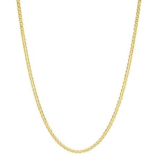 Mariner 2Mm 18Kts Gold Plated Chain Chains