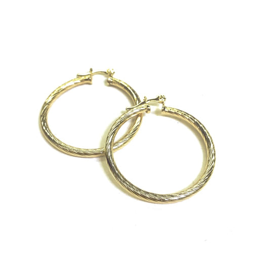 Rope 1'5Mm Earring Hoops Earrings