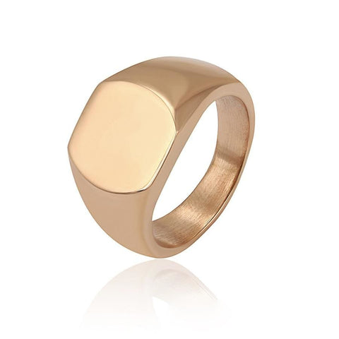Oval Shape Spirals 18Kts of Gold Plated Ring