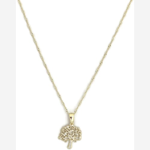 Tree of Life Necklace Chain Gold Plated Chains
