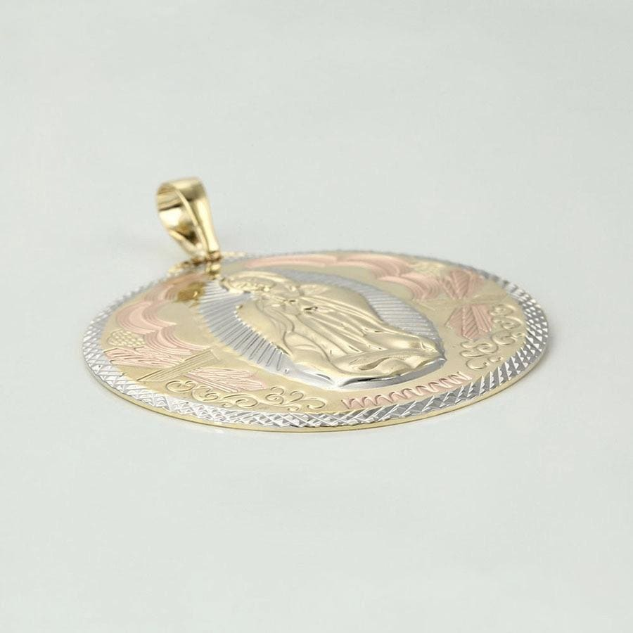 Tri Color Virgin 18kts of Gold Plated Pendant Charms & Pendants