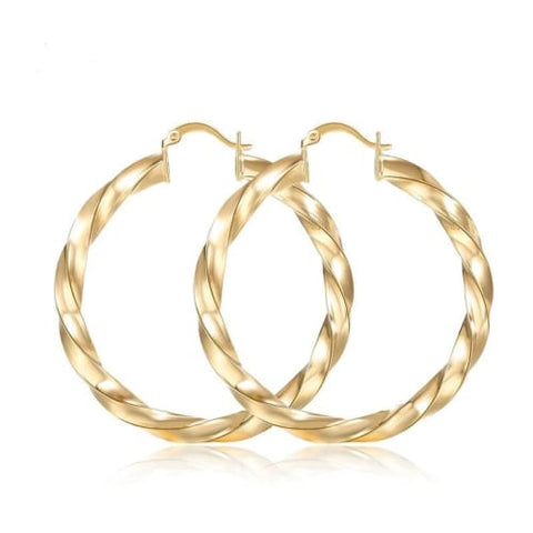 Oval Cz Silver Plated Hoops Earrings