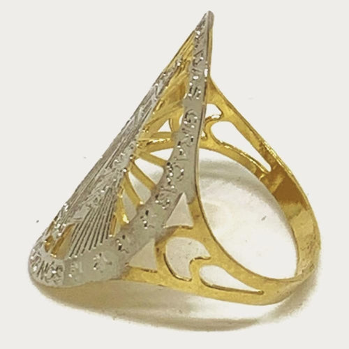 VIRGIN 18KTS OF GOLD PLATED RING Rings