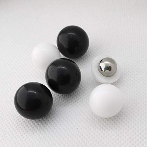 Seamless 0.50 Cal. PVC/Steel Balls Self Defense Less Lethal Black