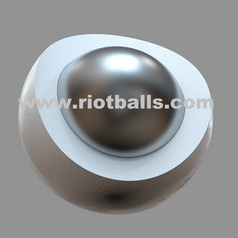 Seamless 10 Grams Composite W Metal Ball Less Lethal .68 Cal # RB-U10G