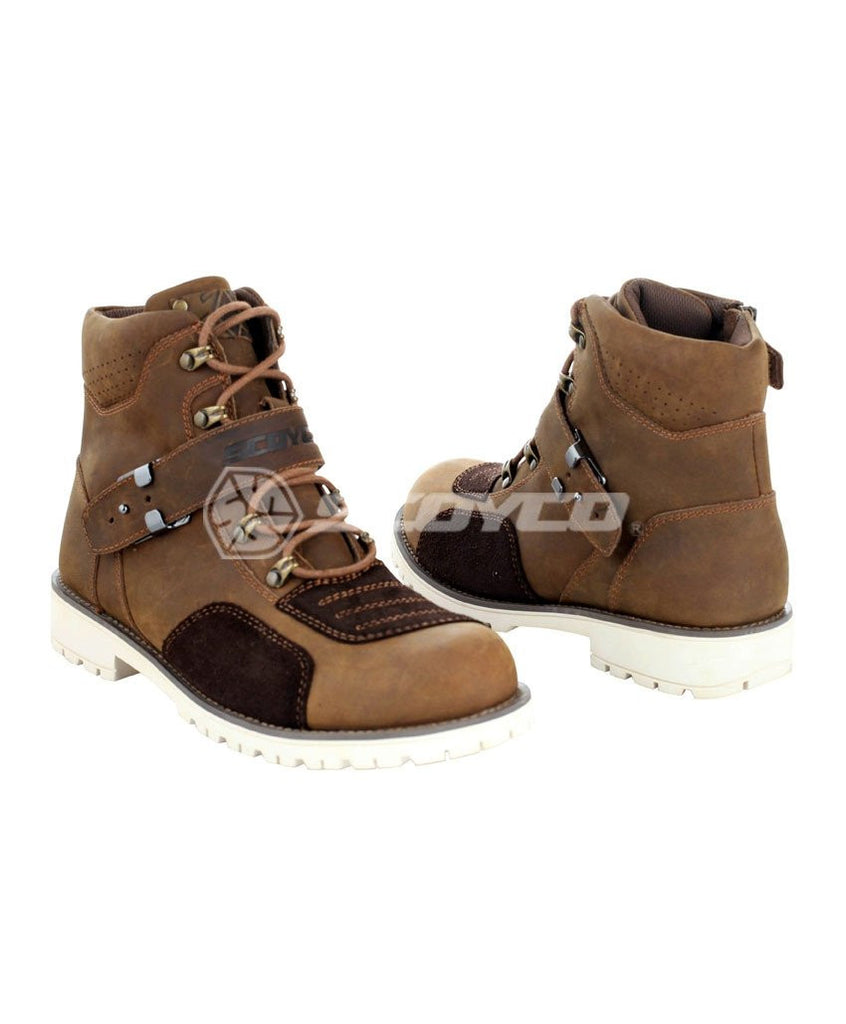 Historical sites(MBT006)-Street motorcycle Boots
