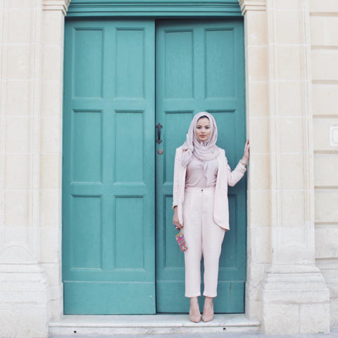 hijab and trousers
