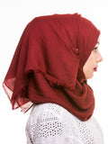 Voile Cotton Diamante Hijab