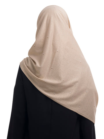 Shimmery Jersey Hijab