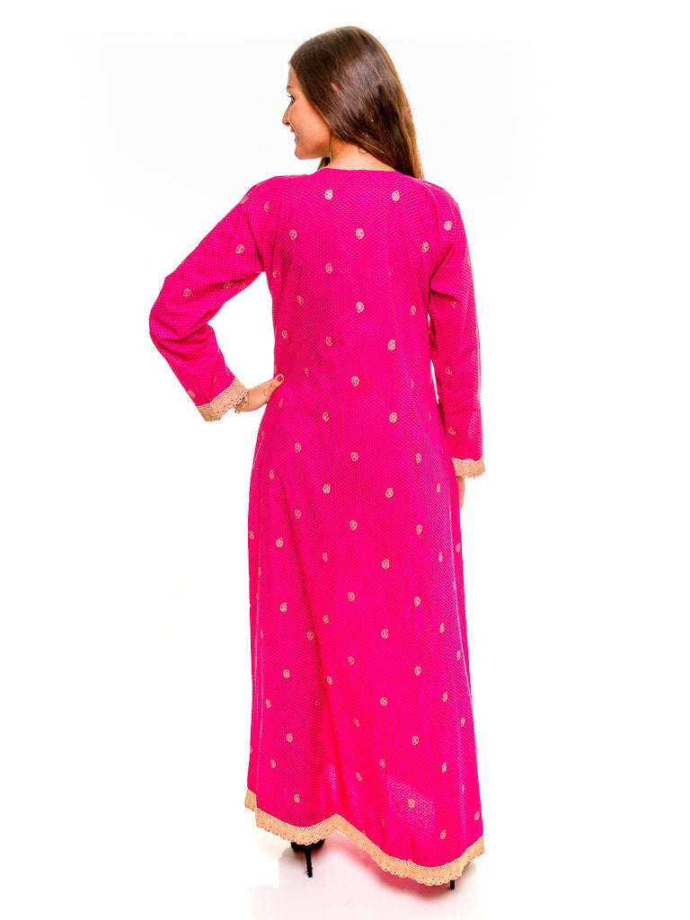 Embroidered Cotton Maxi - Kashkha