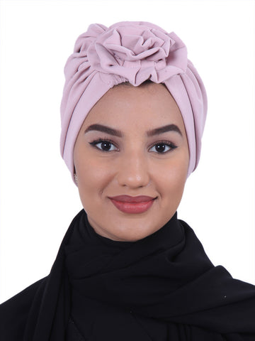 Flower Bow Turban