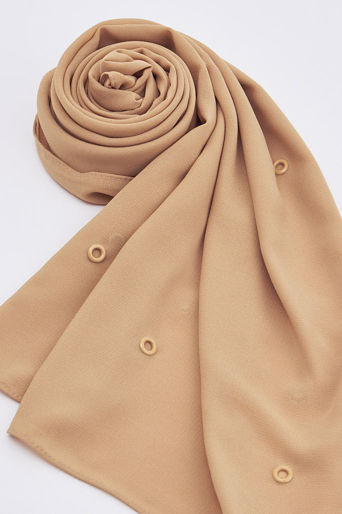 All Over Ring Stud Scarf