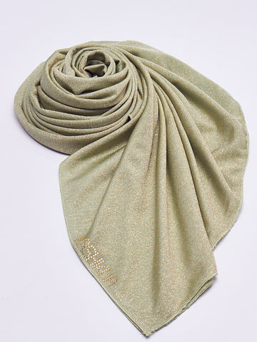 Shimmer Cotton Scarf