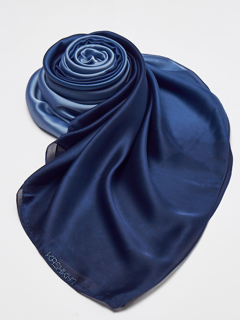 Ombre Satin Scarf