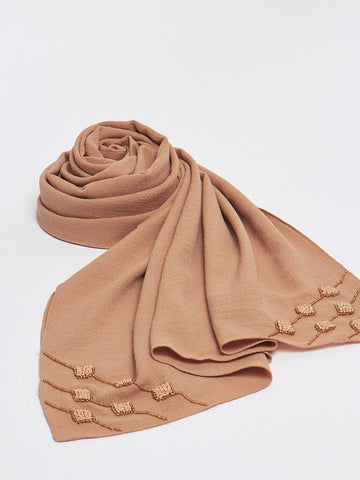Hand Embroidered Luxe Hijab
