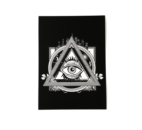 """All Seeing"" Fine Art Print"