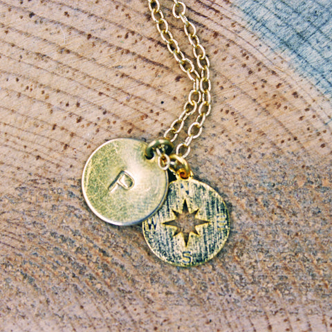 Compass Charm Necklace