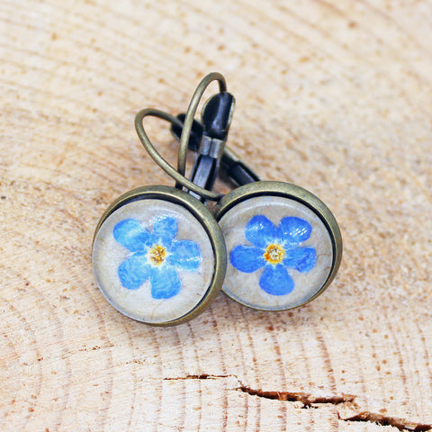 Montana Wildflower Forget-Me-Not Jewelry