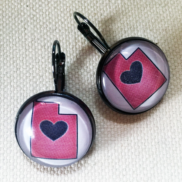 Utah LOVE earrings