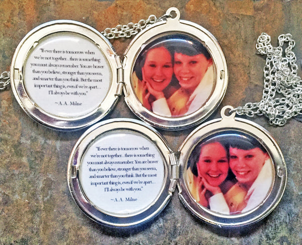 Matching Custom Photo Lockets (2 lockets)