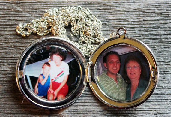 Two Photo Custom Locket