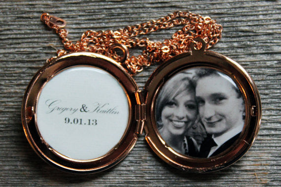Anniversary Custom Photo Locket