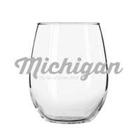 michigan wine glass