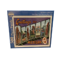 greetings from detroit puzzle