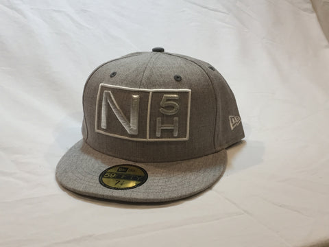 N5H Logo, Flexfit, Grey