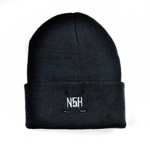 N5H Crest Toque - Black