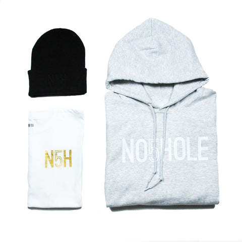 Promo Package #5: Heather Grey
