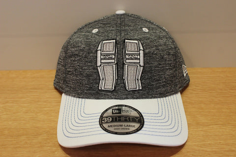 Goalie Pad Cap - Graphite/White