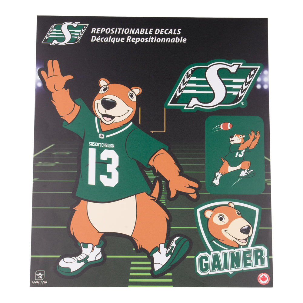 Gainer Wall Decal Set