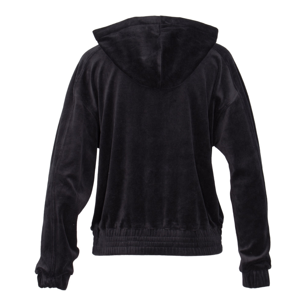 Ladies Ranking Velour Hoody