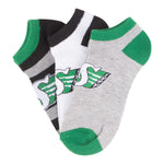 Ladies 3 Pack No-Show Socks