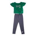 Child Heart In The Game Legging Set