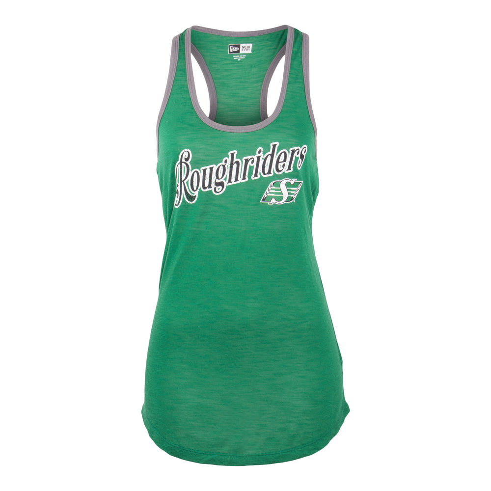 Ladies Loon Lake Tank Green