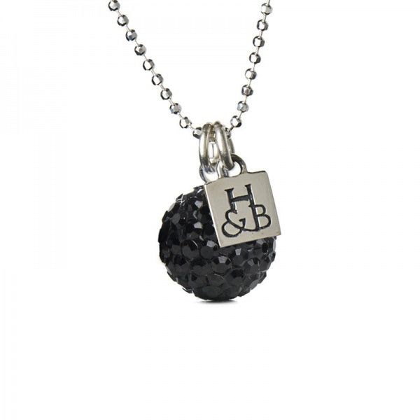 H&B 12MM BLACK NECKLACE