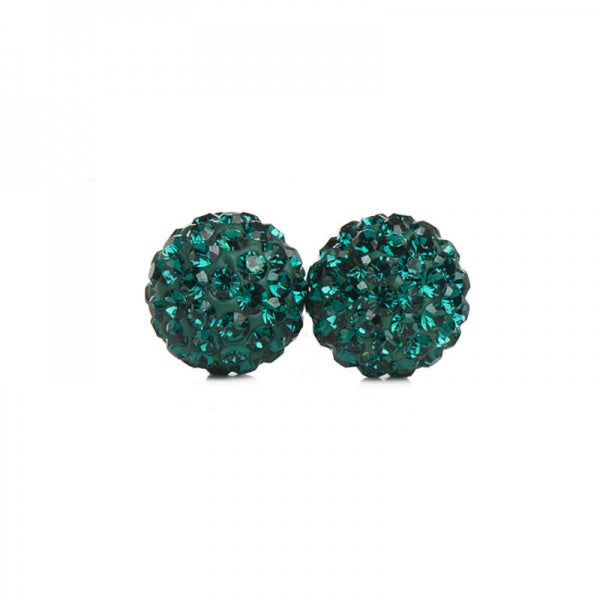 H&B 10MM EMERALD SPARKLE BALLS