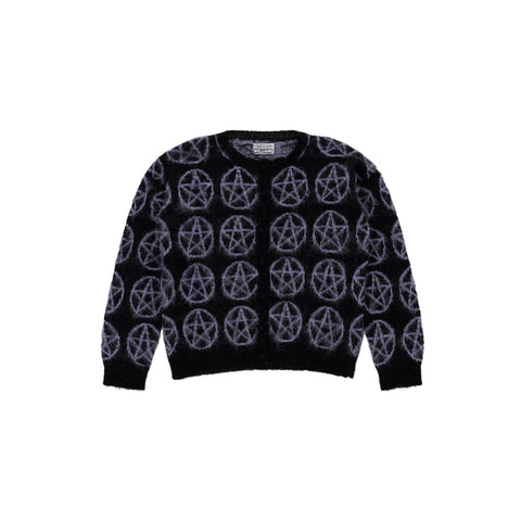 PENTAGRAM KNIT CARDIGAN