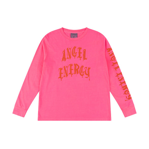 PINK ANGEL ENERGY LONG SLEEVE T-SHIRT