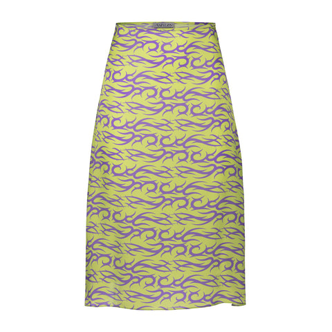 LILAC MINT TATTOO SLIP SKIRT