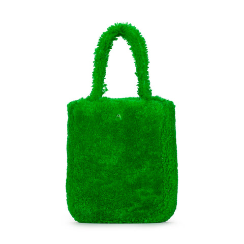 FUZZY GREEN KATE BAG