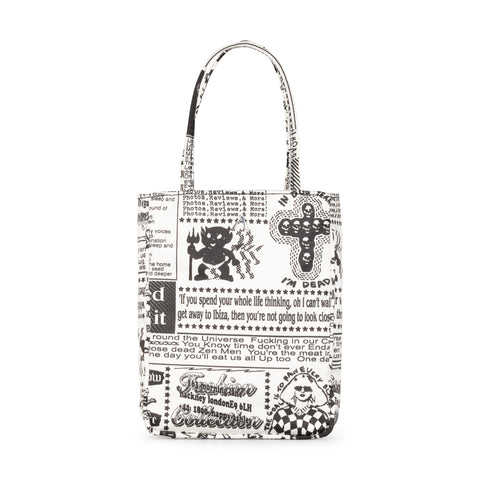 ZINE PRINT KATE BAG