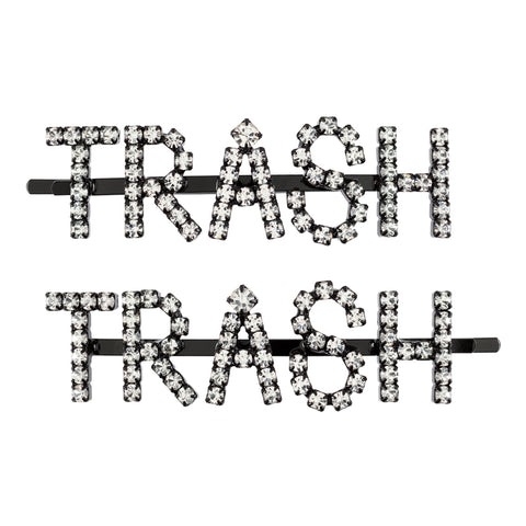 TRASH HAIR PINS