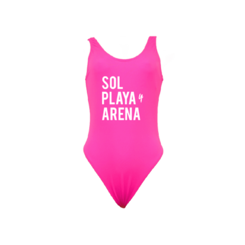 Sol, Playa, y Arena One Piece Swimsuit