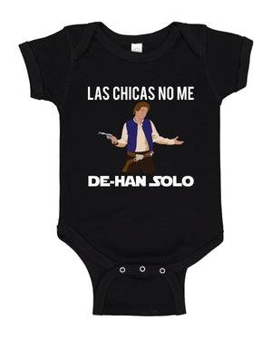 Load image into Gallery viewer, Las Chicas No Me De-Han Solo Onesies - Babies