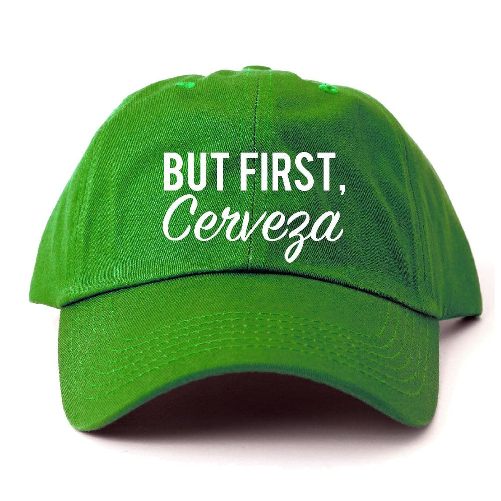 Load image into Gallery viewer, But First, Cerveza Dad Hat