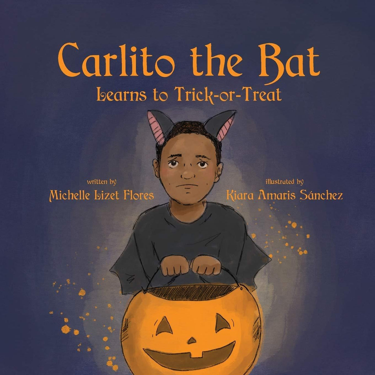 Carlito the Bat Learns to Trick-or-Treat